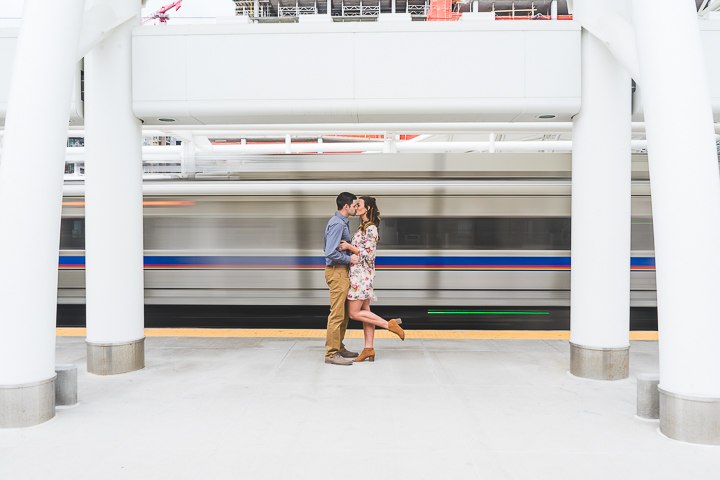 Union Station Engagement | Run Wild With Me Photography