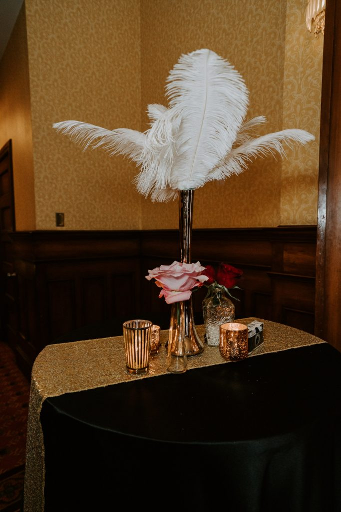 Colorado Wedding Photography, Intimate Wedding, Brown Palace Denver, 1920s wedding