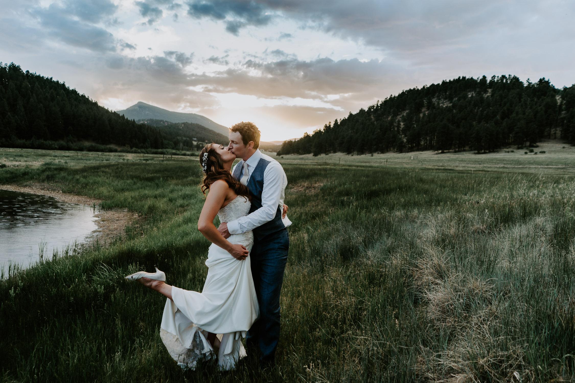 Deer Creek Valley Ranch, Colorado Wedding Photography, Intimate Wedding, Colorado elopement photography,
