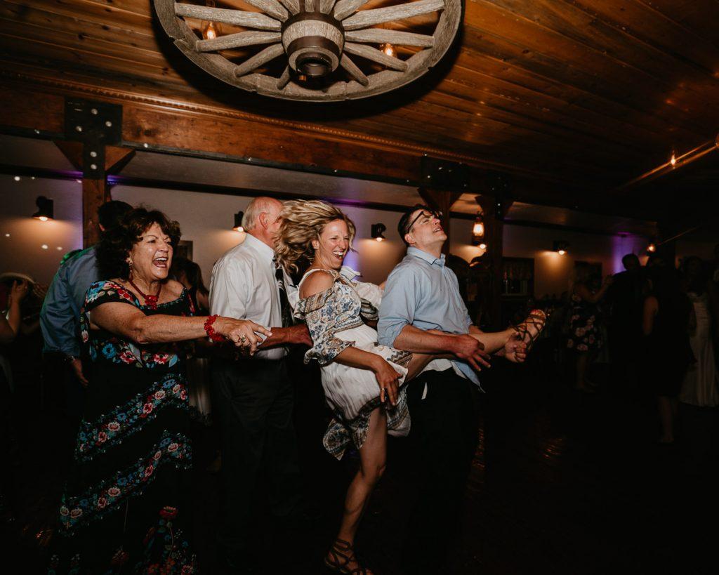 Deer Creek Valley Ranch, Colorado Wedding Photography, Intimate Wedding, dancing
