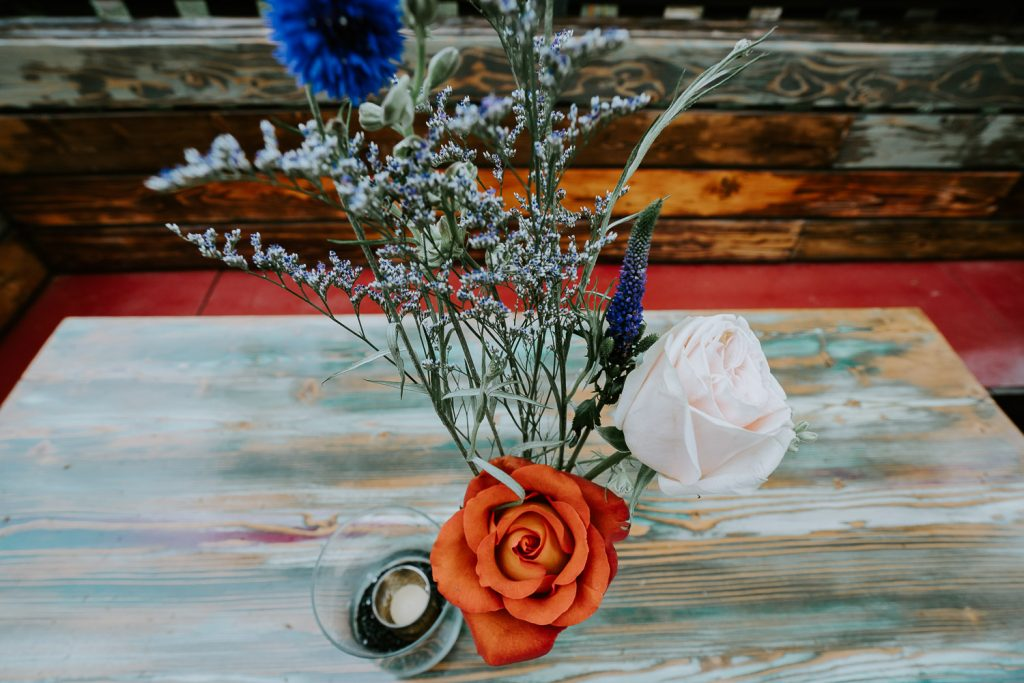 Colorado Wedding Photography, Intimate Wedding, Colorado elopement photography, crested butte wedding, center pieces