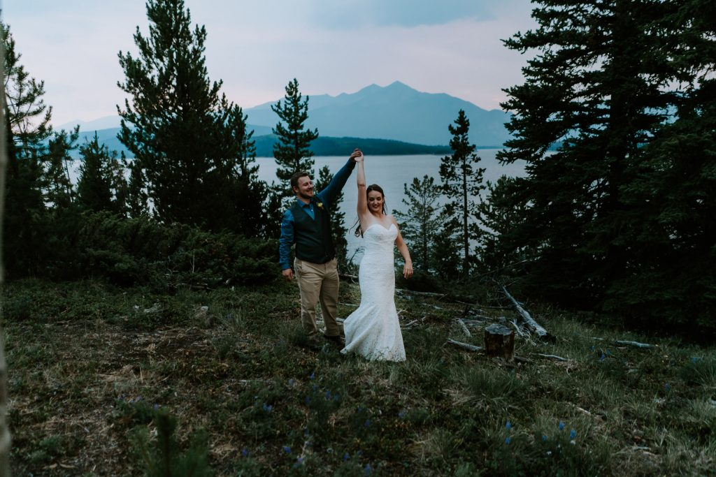 Colorado Wedding Photographer, Denver Botanic Gardens Wedding, Intimate Wedding, Windy Point Campground, lake dillon, elopement photographer