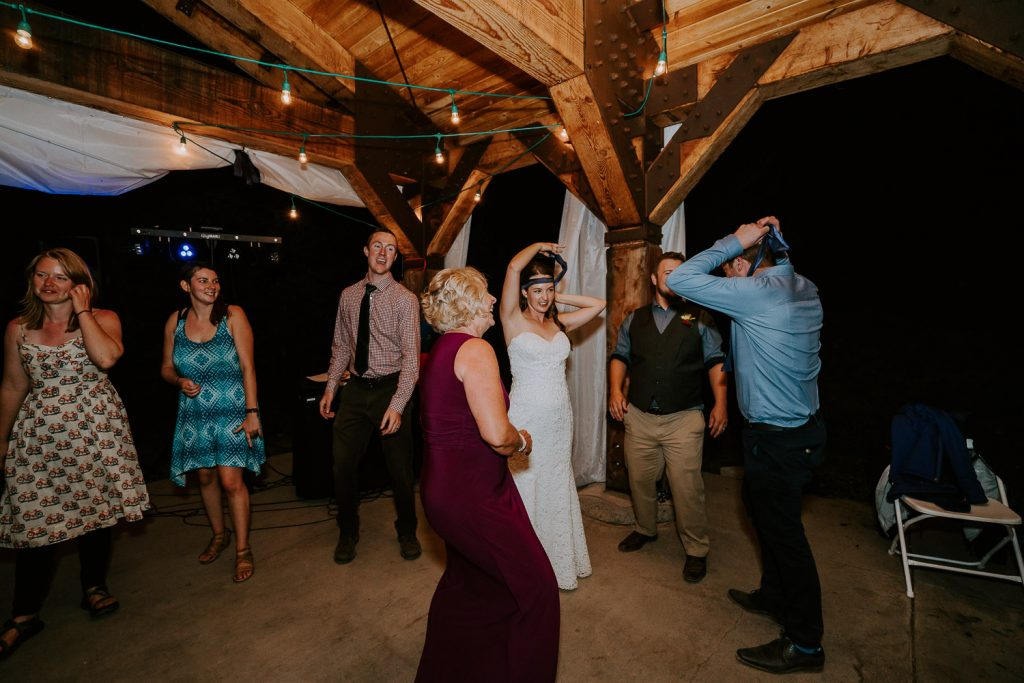 Colorado Wedding Photography, Intimate Wedding, Windy Point Campground, lake dillon, dancing