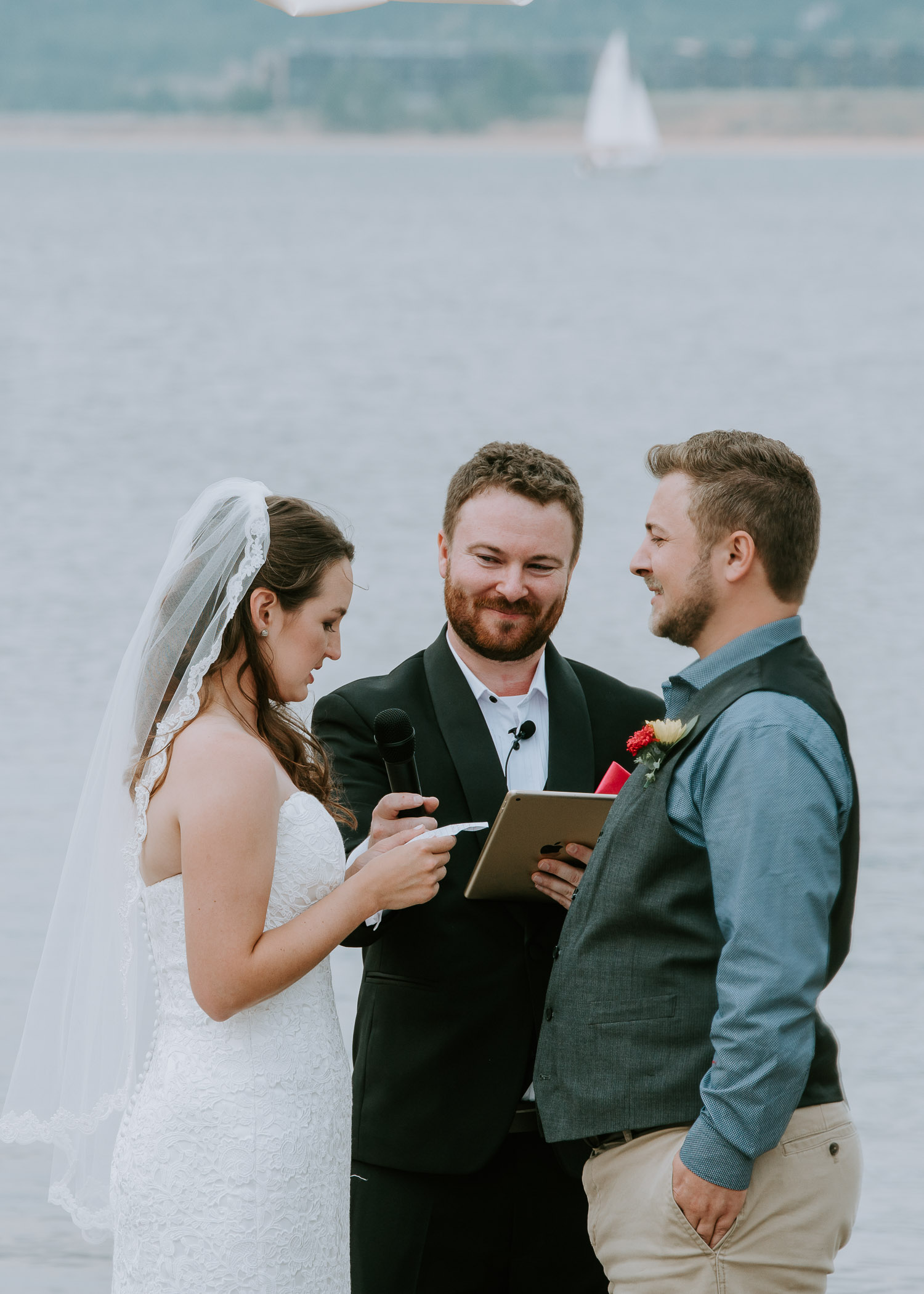 Colorado Wedding Photography, Intimate Wedding, Windy Point Campground, lake dillon,