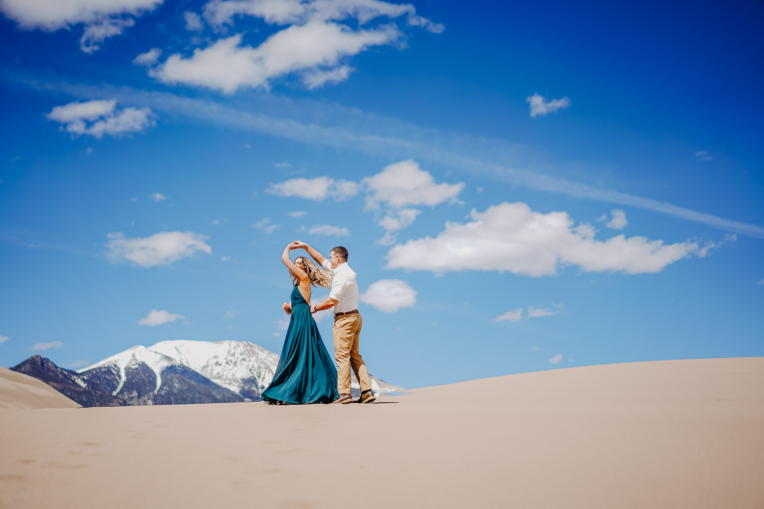 Colorado Engagement Photography, Great Sand Dunes National Park, Adventure Couple Photography, Colorado Elopement Photography,