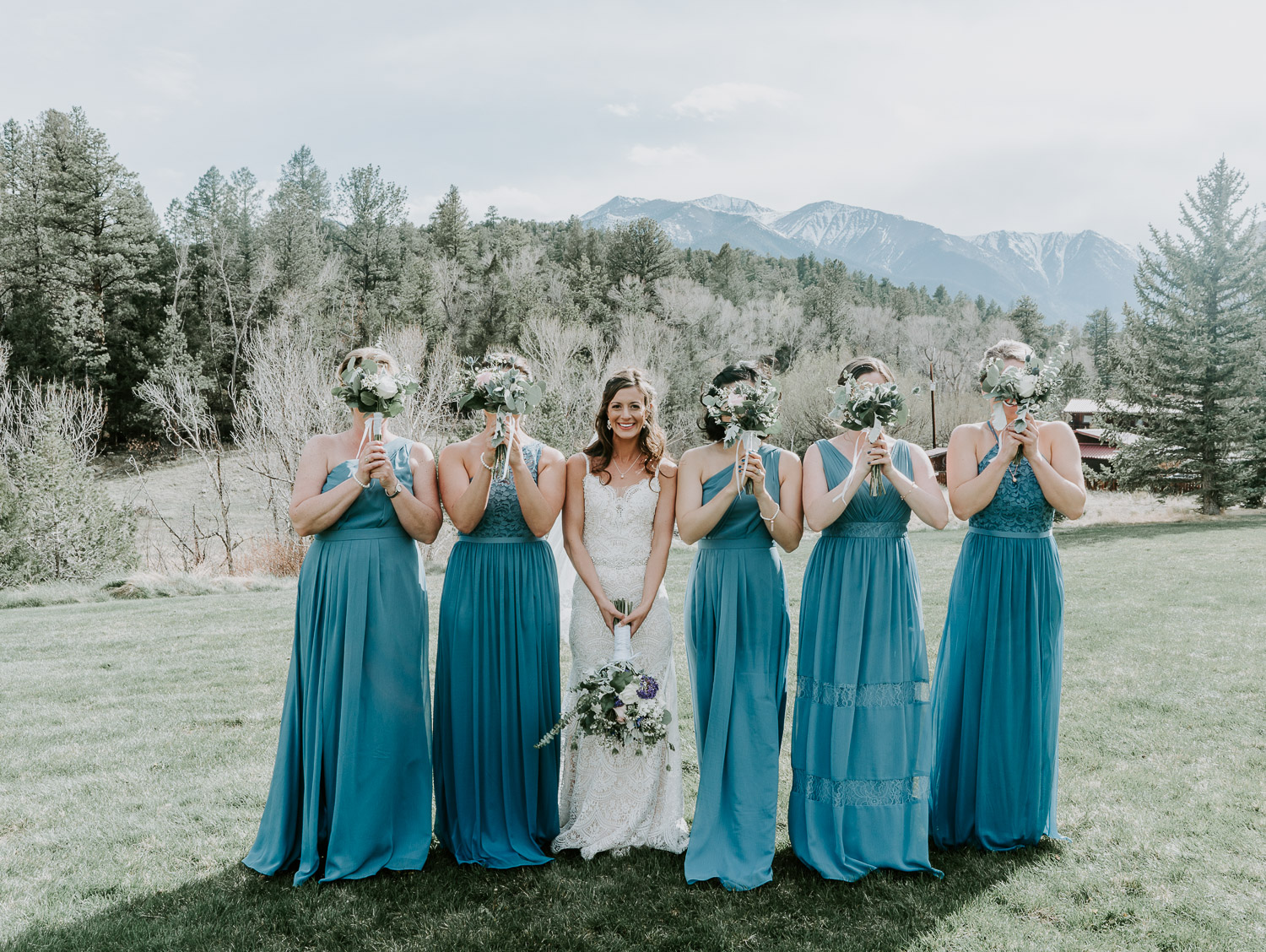 Colorado Wedding, Colorado Wedding Photographer, Mount Princeton Hot Springs, Buena Vista, Elopement Photography, bridesmaids