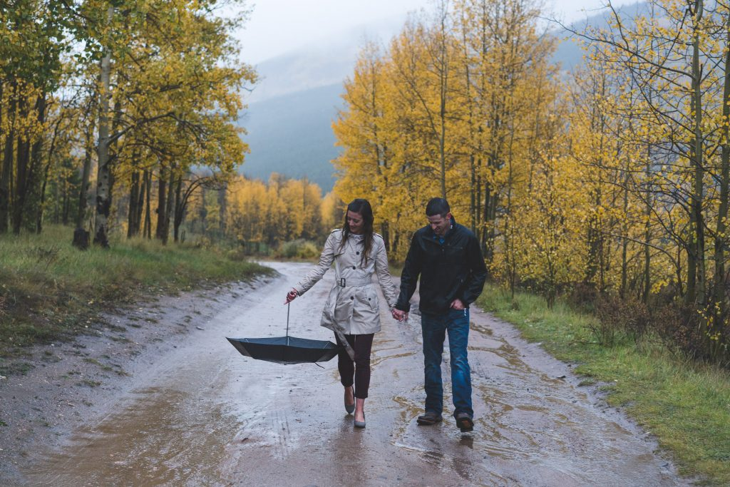 Colorado Engagement Photography, Adventure Couple Photography, Adventure Session, Kenosha Pass, Fall Engagement Photos