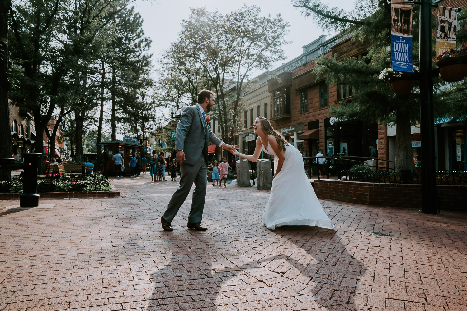 Sunrise Amphitheater Wedding, Boulder Wedding Photography, Boulder Theater, Colorado, Elopement, pearl street