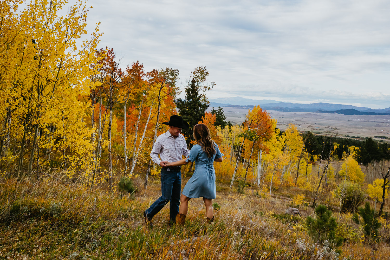 Fall Adventure Session, Alvarado Campground, Westcliff Colorado, Hillside Colorado, Autumn, Colorado Engagement Photography, Colorado Couples Photographer, Elopement