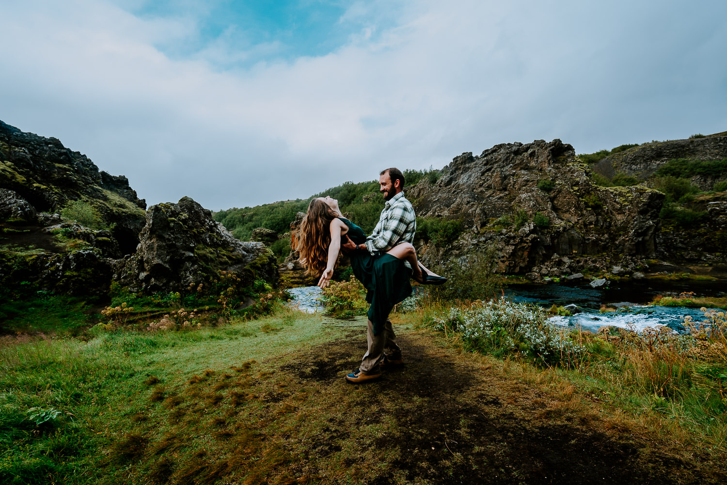 adventurous photoshoot in Iceland,, Iceland Engagement Photography, Iceland Elopement Photography, Iceland Wedding, Iceland Elopement Photographer, waterfalls, highlands