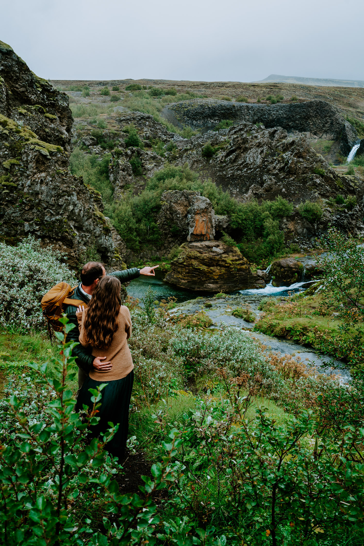 adventurous photoshoot in Iceland,, Iceland Engagement Photography, Iceland Elopement Photography, Iceland Wedding, Iceland Elopement Photographer, waterfalls, highlands, couple