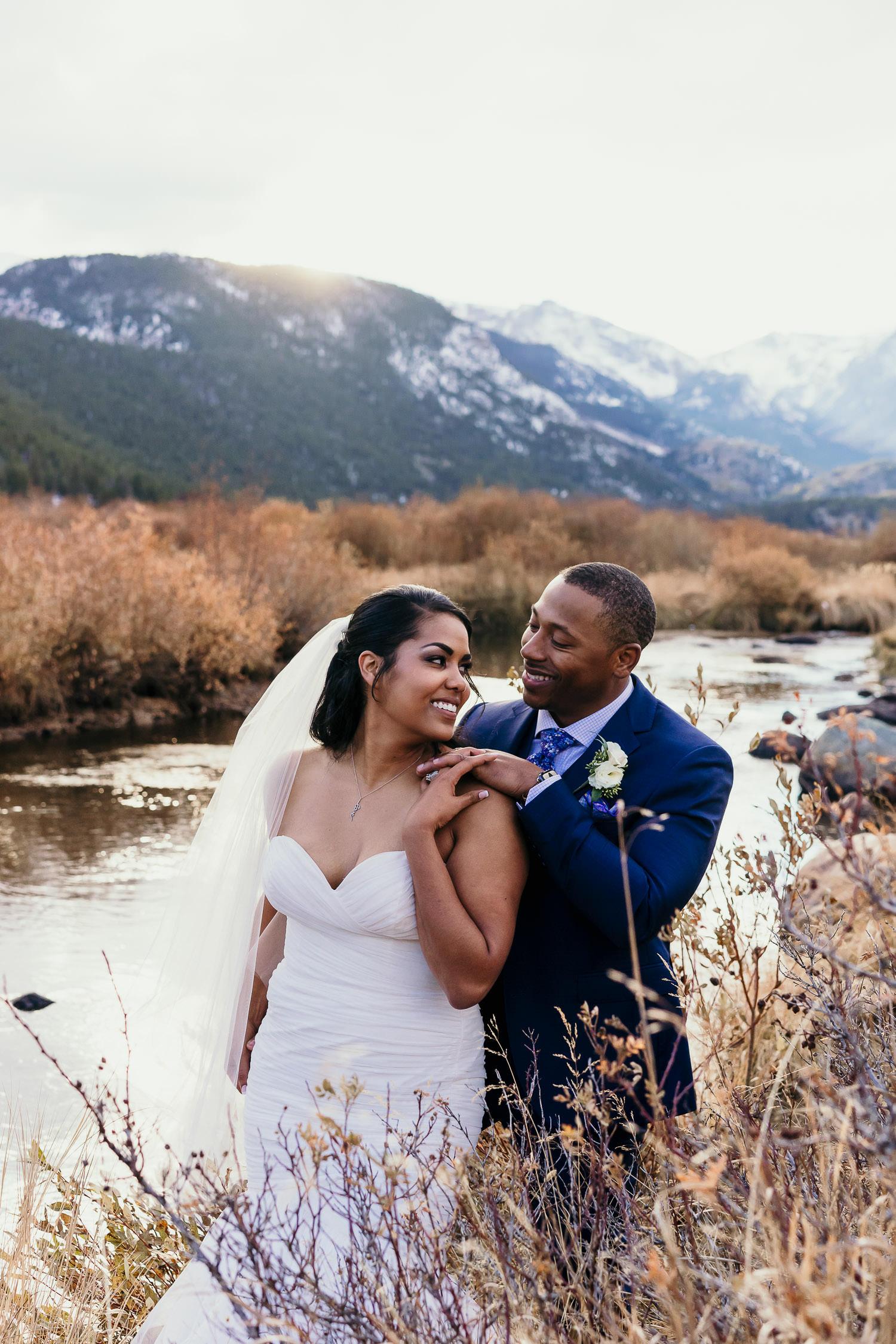Rocky Mountain Elopement, Colorado Elopement Photographer, RMNP, Rocky Mountain National Park