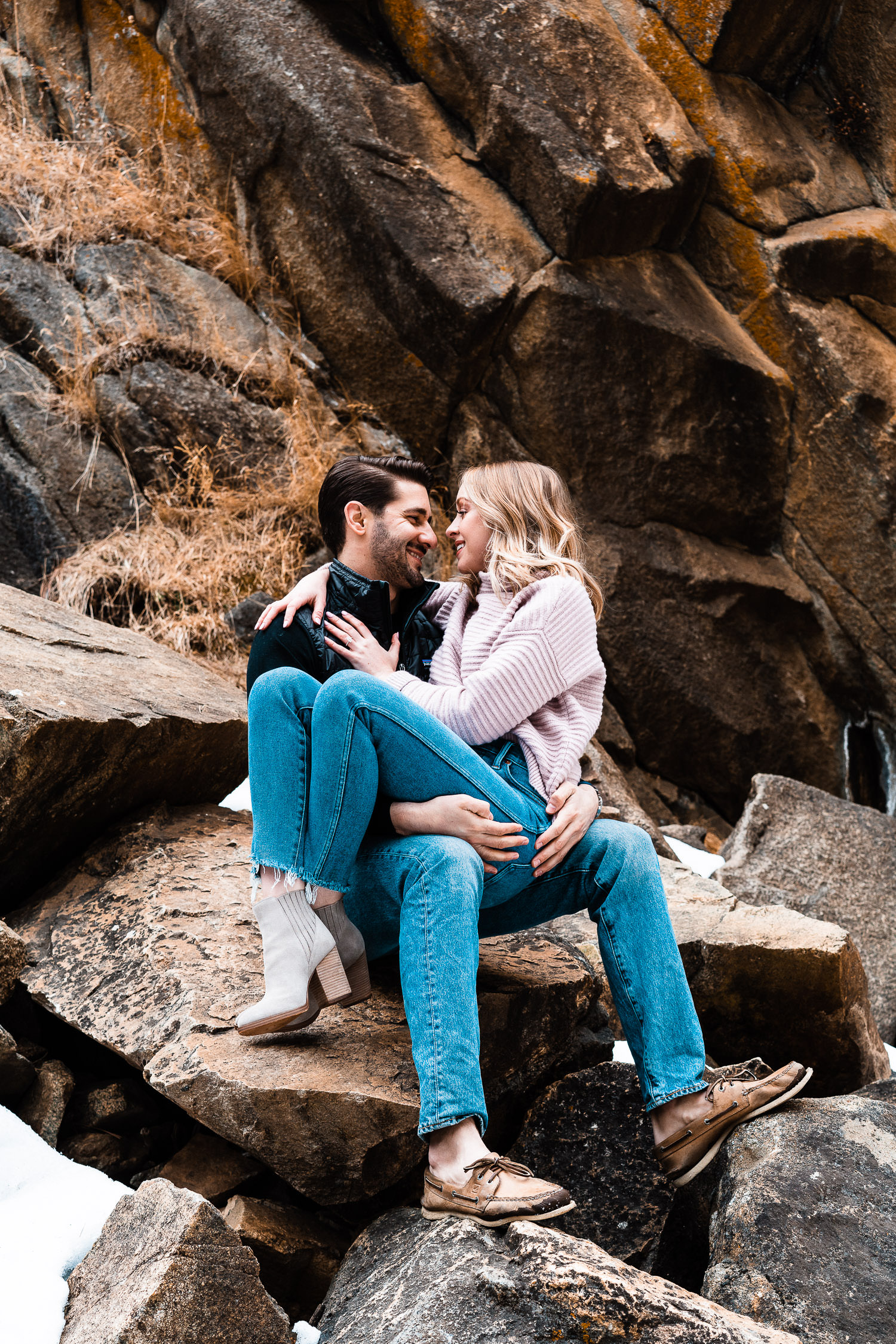 Boulder Adventurous Engagement, Boulder Engagement Photographer, Colorado Engagement Photographer, Colorado Couples Photography, Boulder Falls