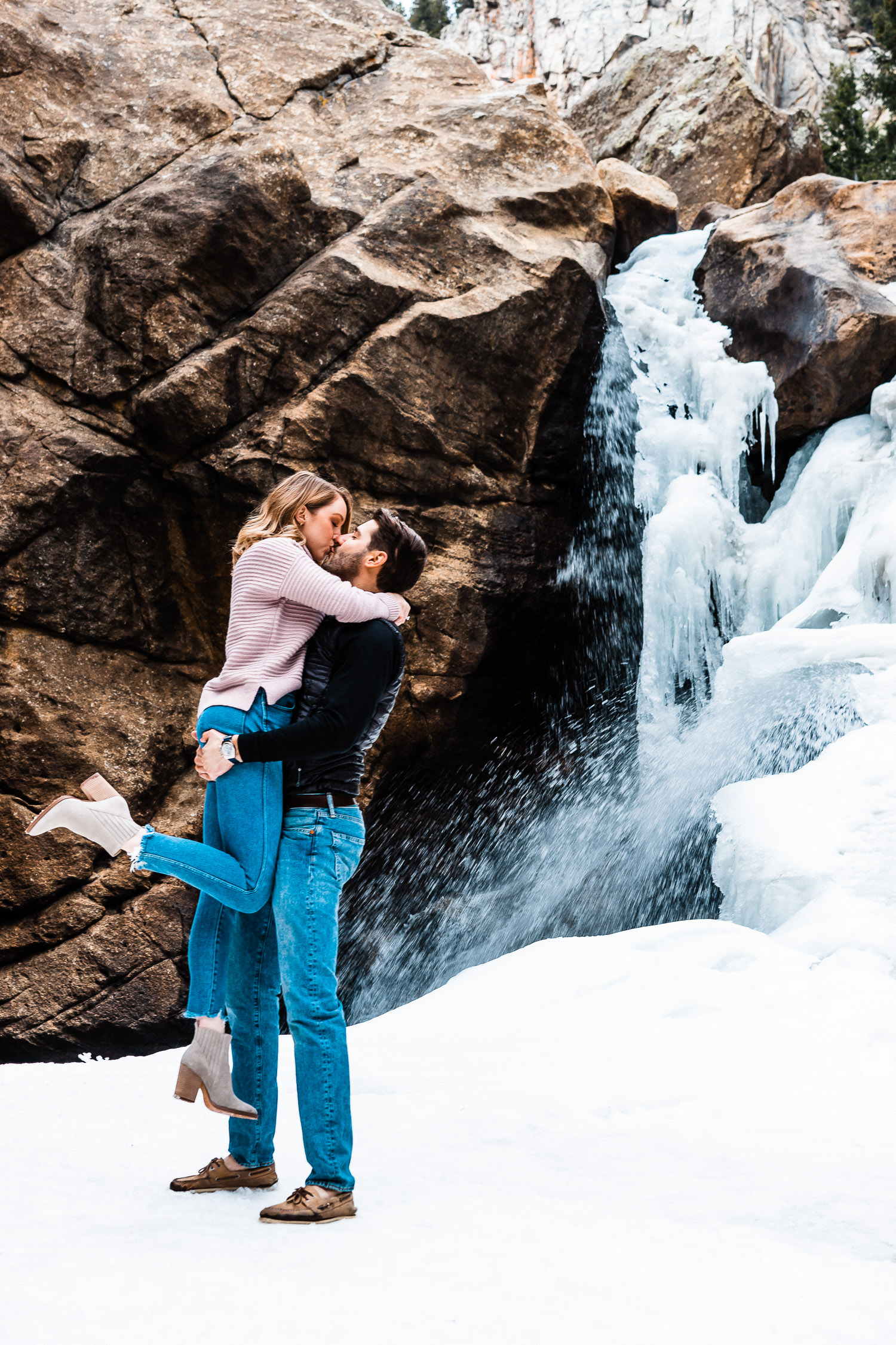 Boulder Adventurous Engagement, Boulder Engagement Photographer, Colorado Engagement Photographer, Colorado Couples Photography