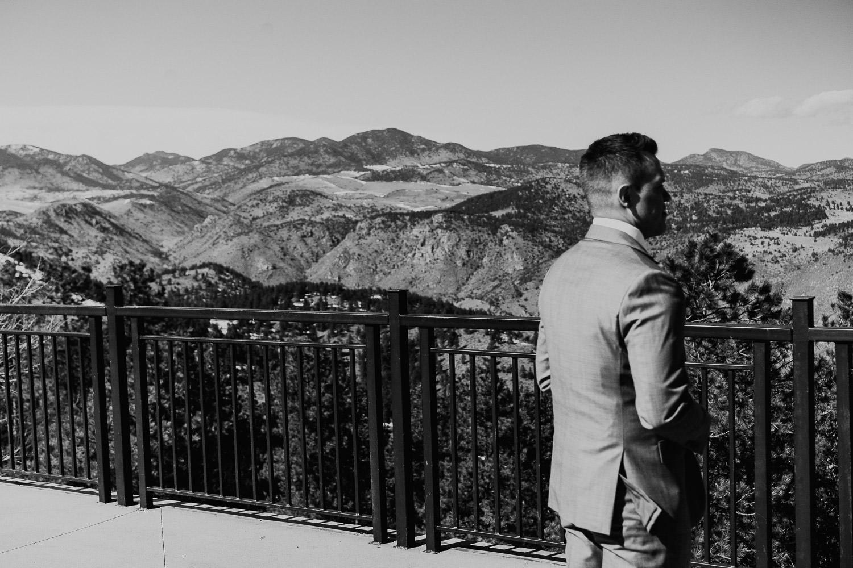 Mount Vernon Canyon Club Wedding, Colorado Wedding, first look