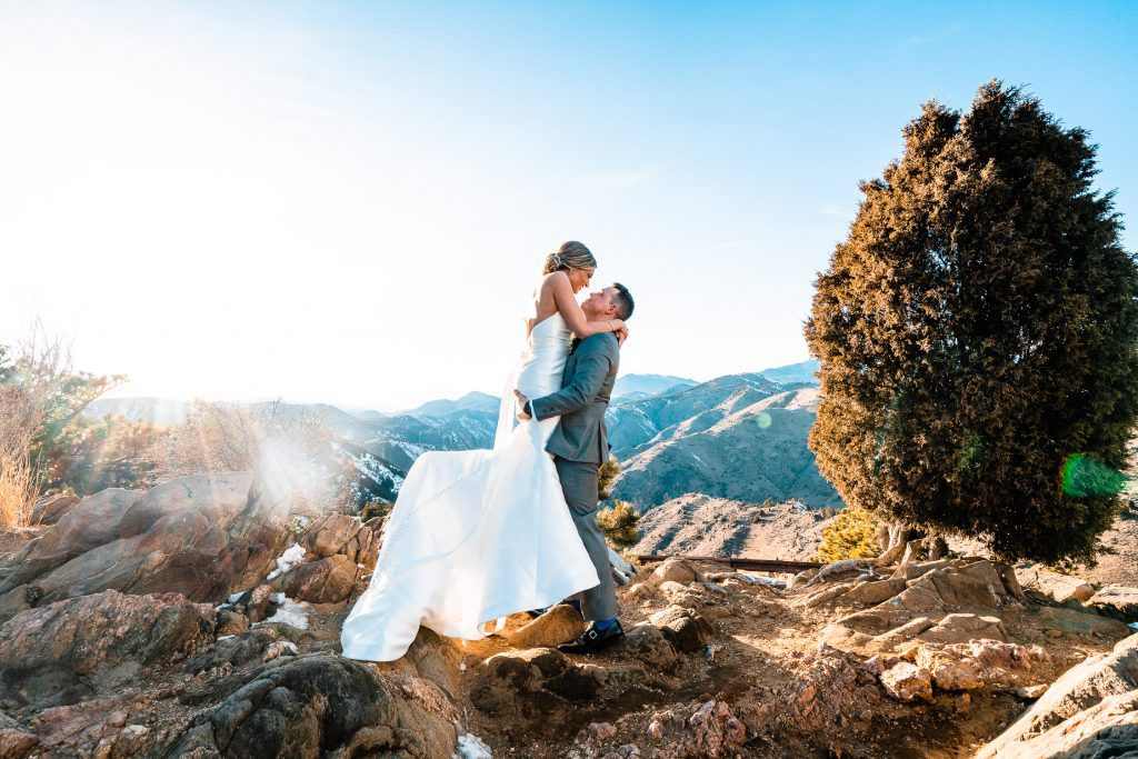 Mount Vernon Canyon Club Wedding, Colorado, Lookout mountian