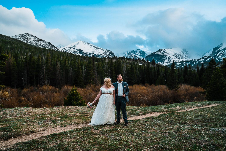 Rocky Mountain National Park Elopement, Colorado