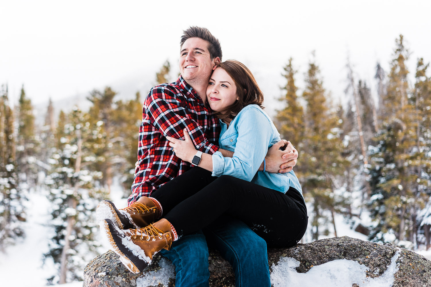 Rocky Mountain National Park Engagement, Colorado