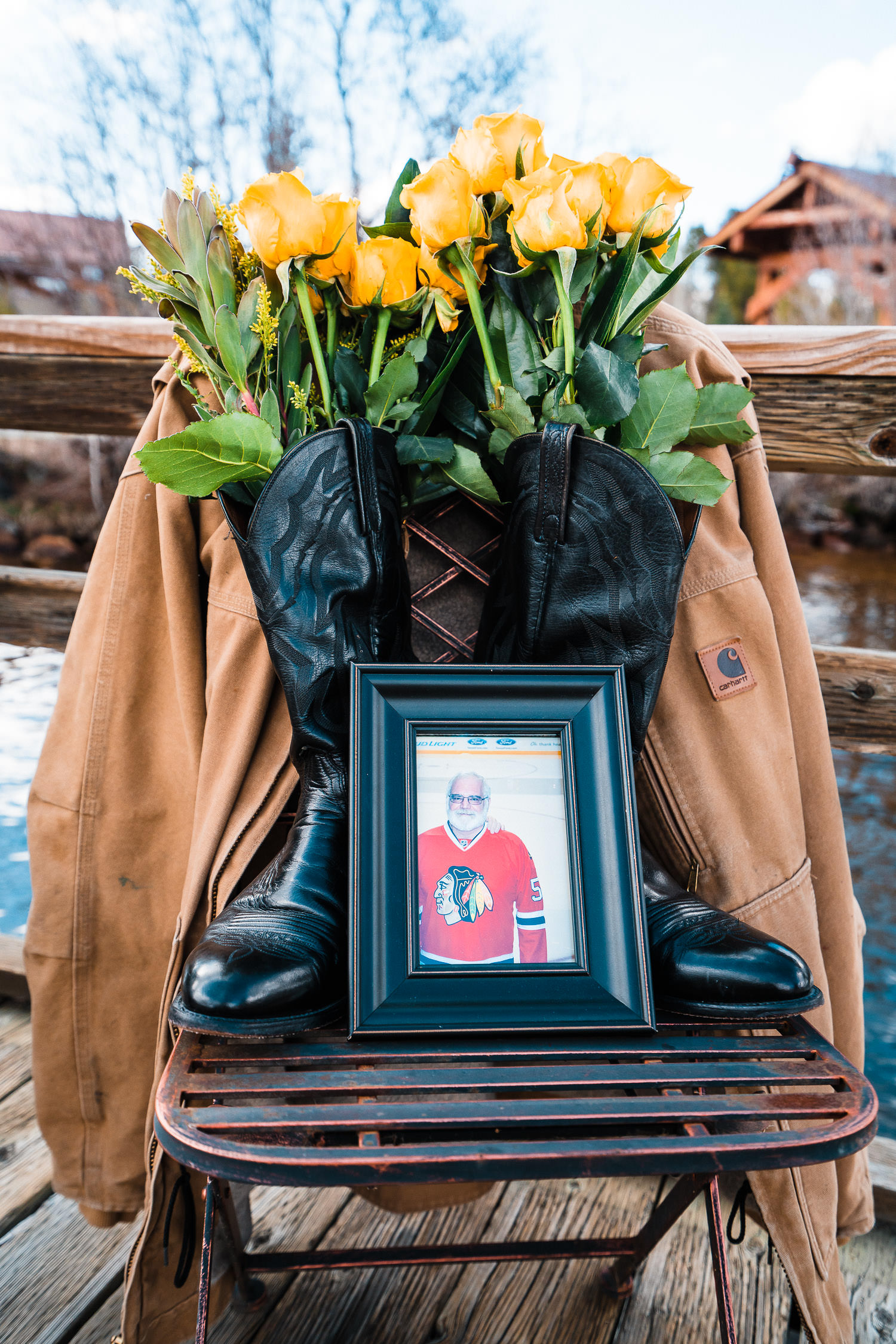 wedding fathers memory chair