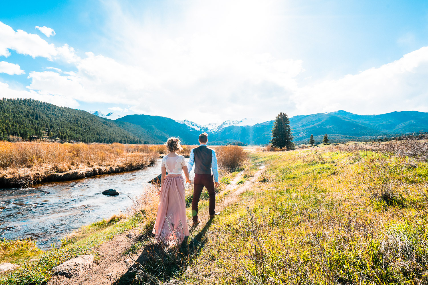 Rocky Mountain National Park Elopement