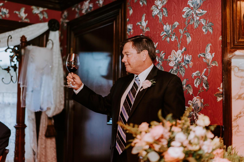 fathers toasts wedding