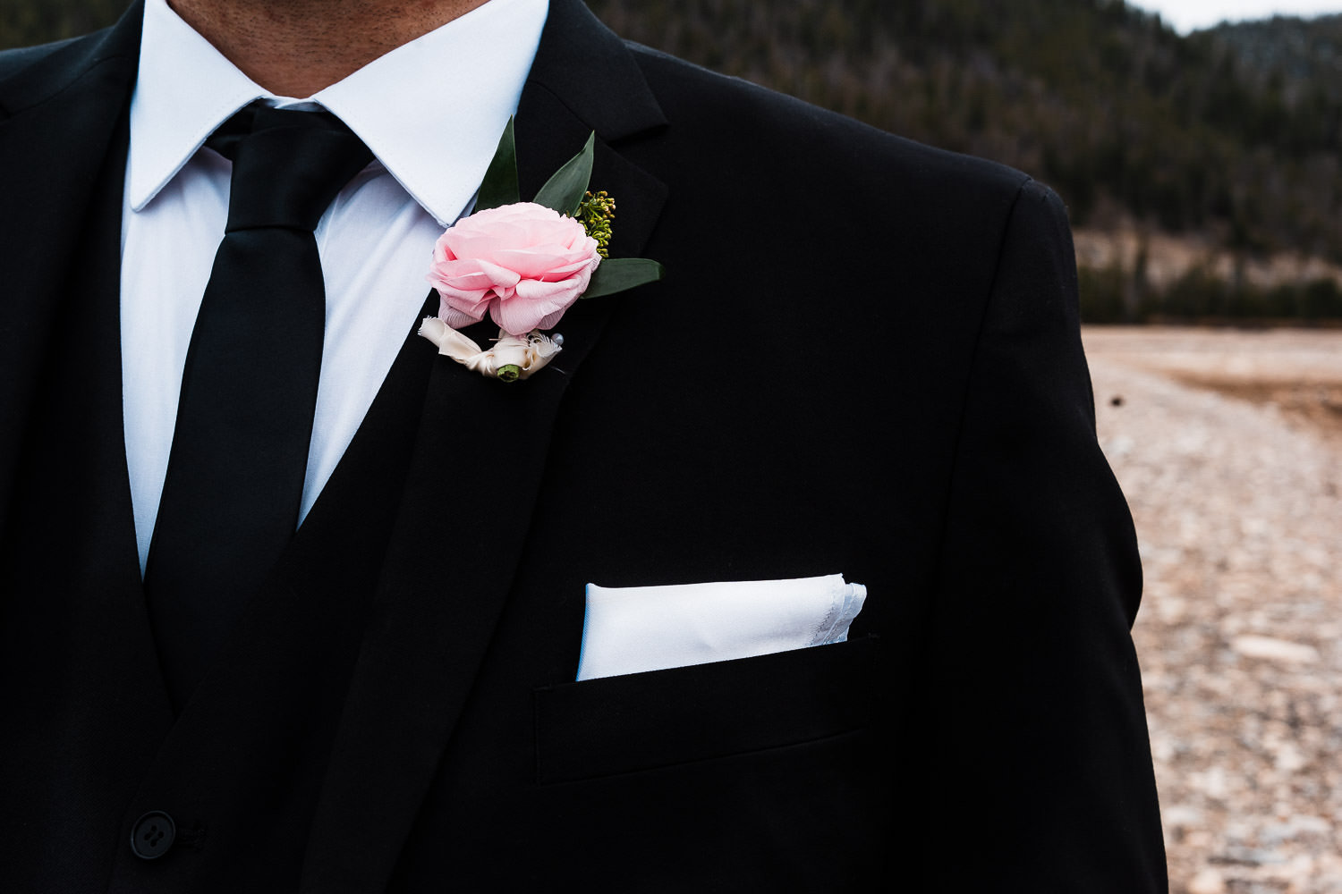 honeycomb flowers boutonniere