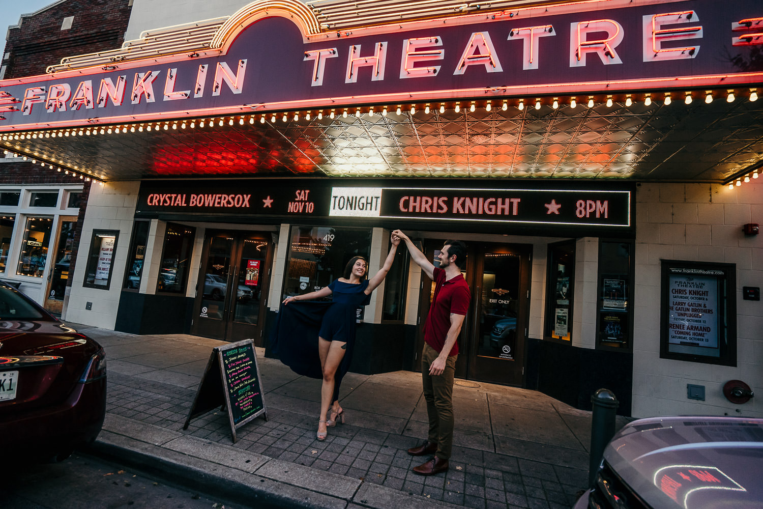 Franklin Engagement Photography