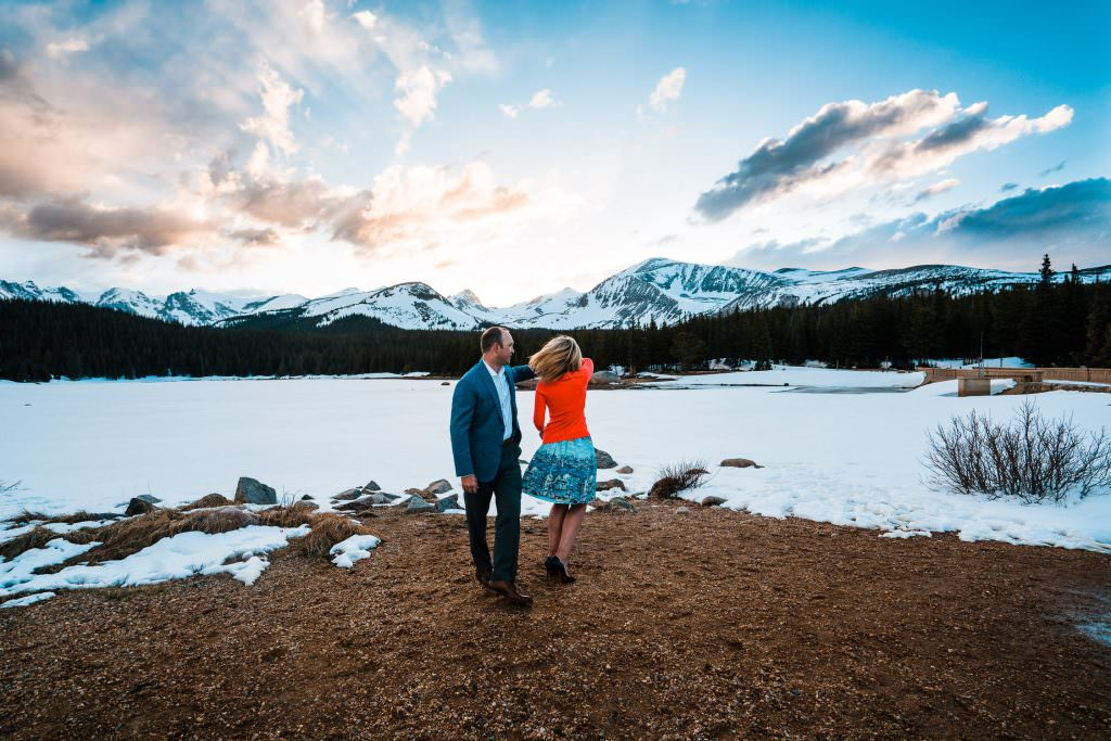 Brainard Lake Engagement