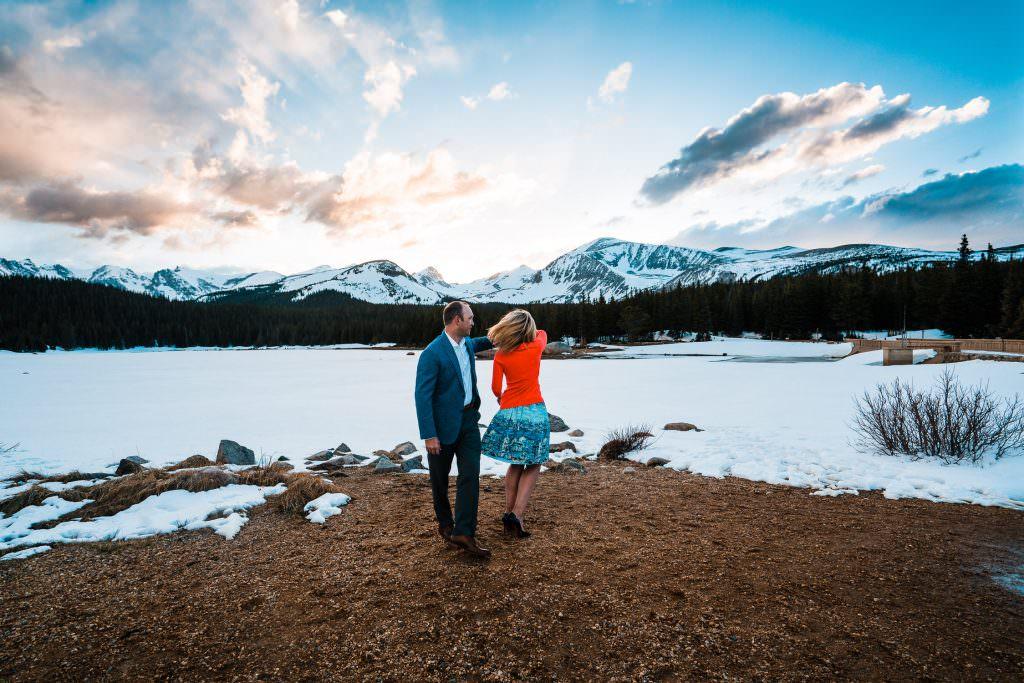 Brainard Lake Engagement