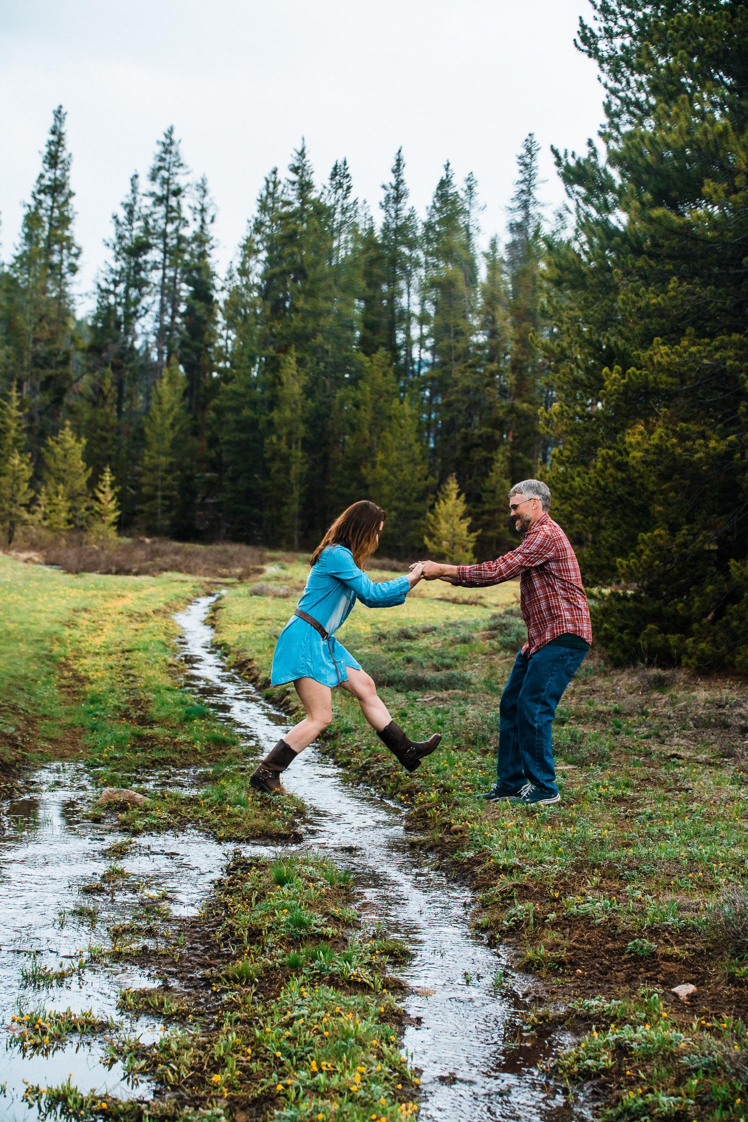Colorado Cabin Engagement