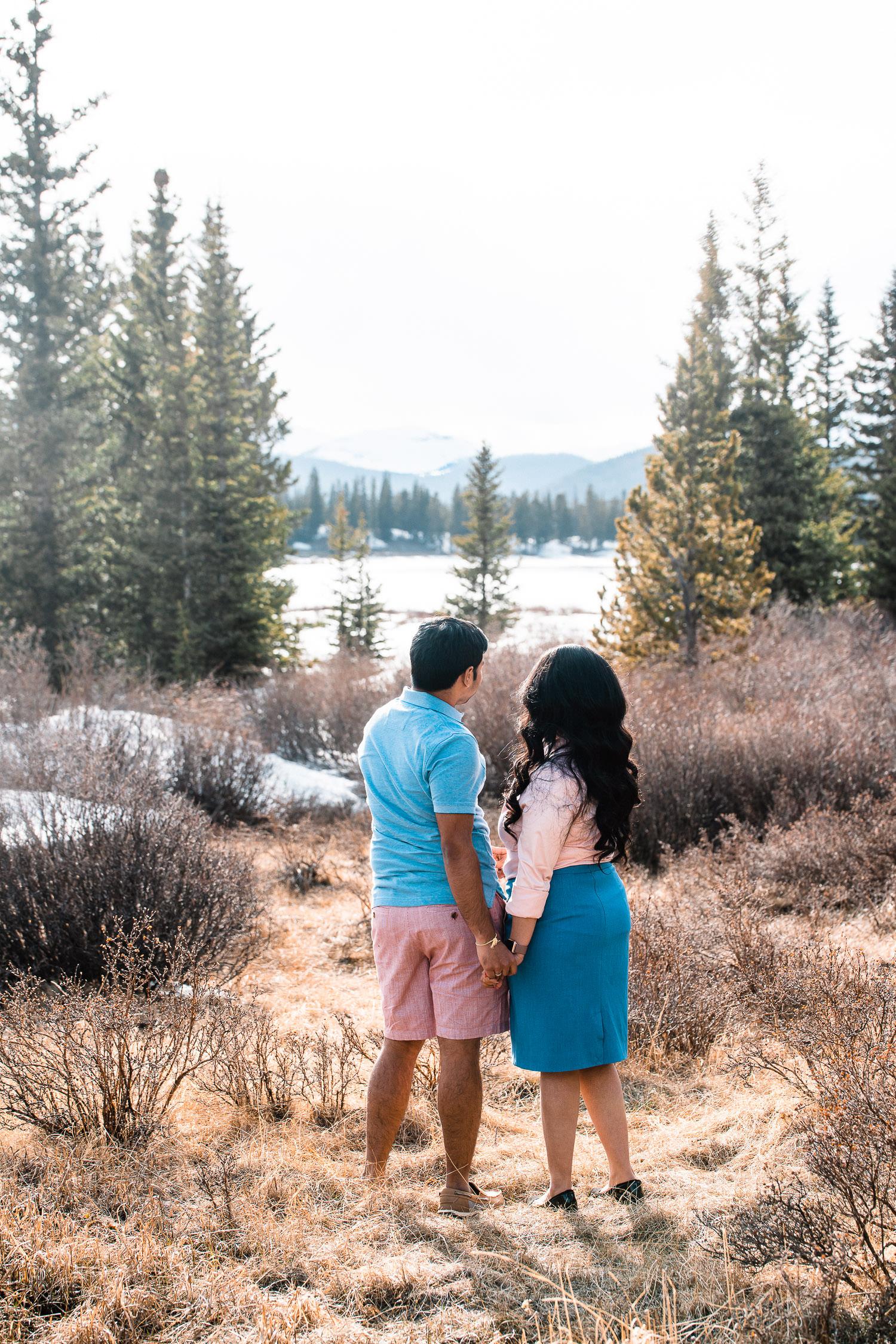 Echo Lake Engagement