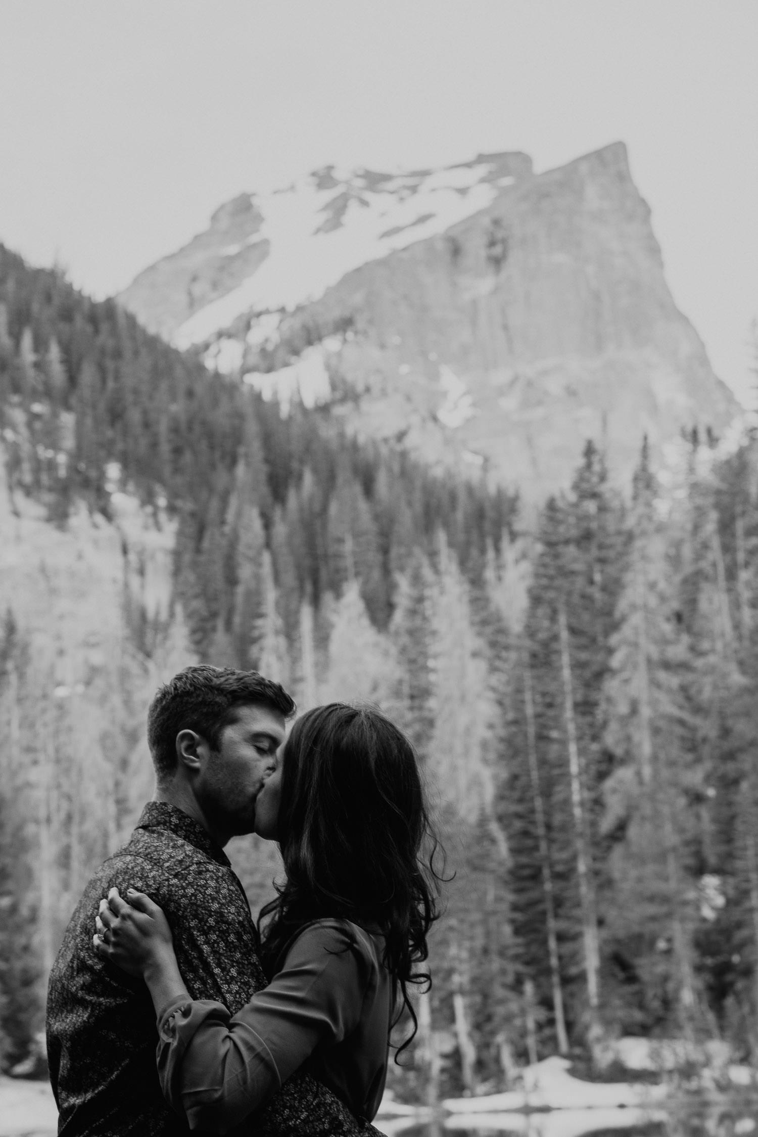Nymph Lake Engagement