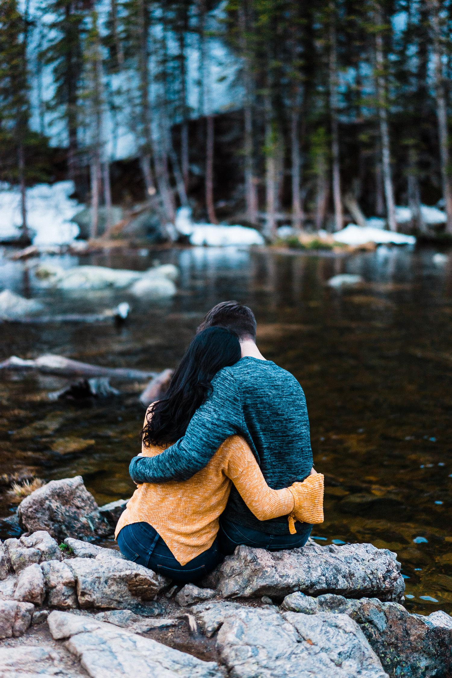 Dream Lake Engagement