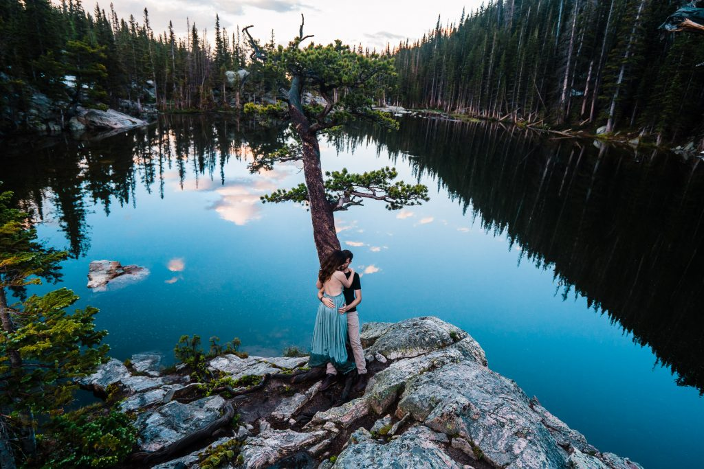 Dream Lake Engagement