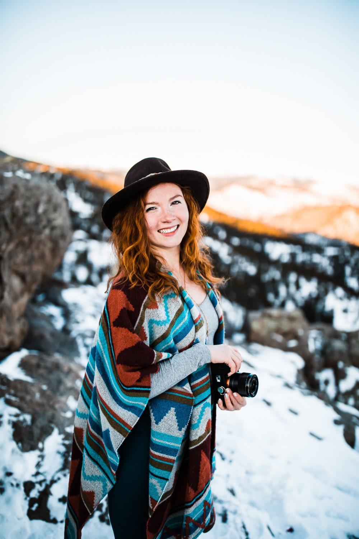 Colorado Elopement Photography || Run Wild With Me- Meg