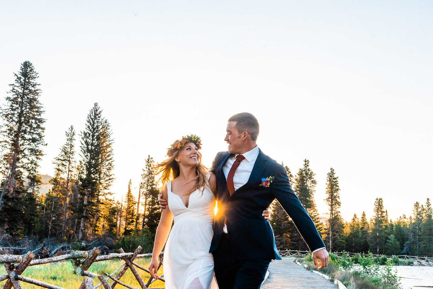 Sprague Lake Elopement | Run Wild With Me Photography