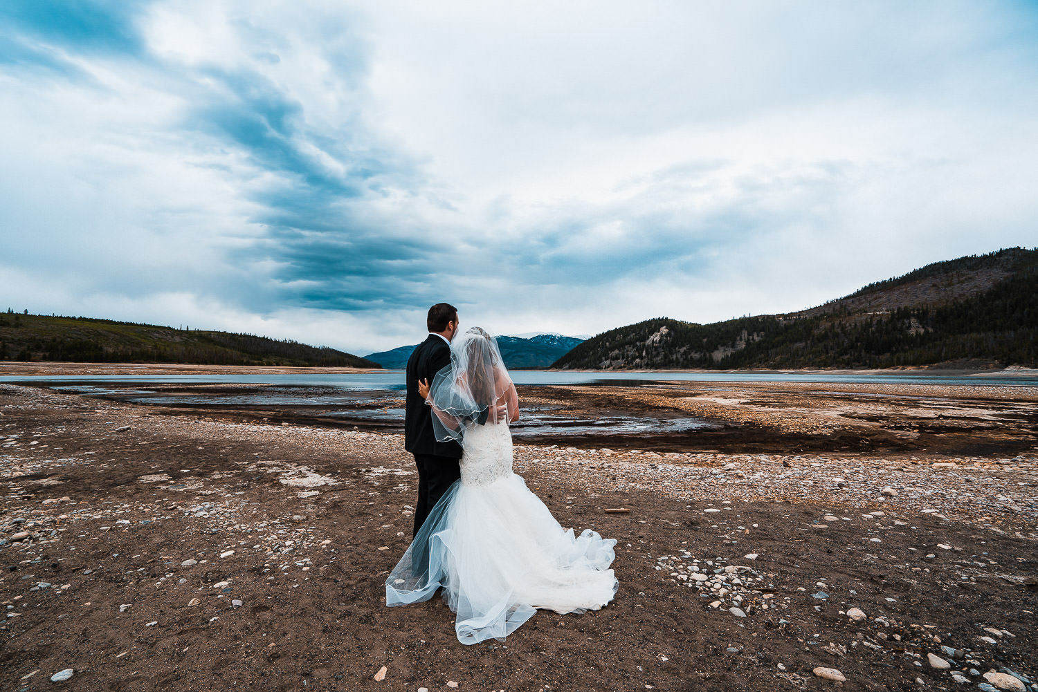 Elopement First Look | Run Wild With Me Photography