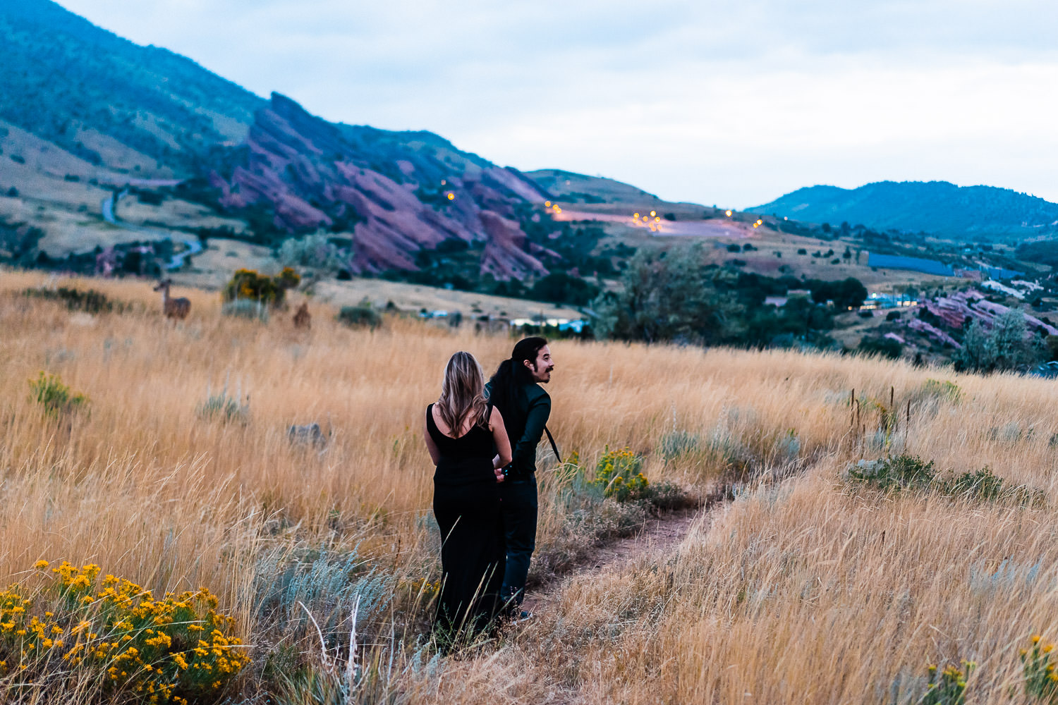 Red Rocks Engagement Photography | Run Wild With Me