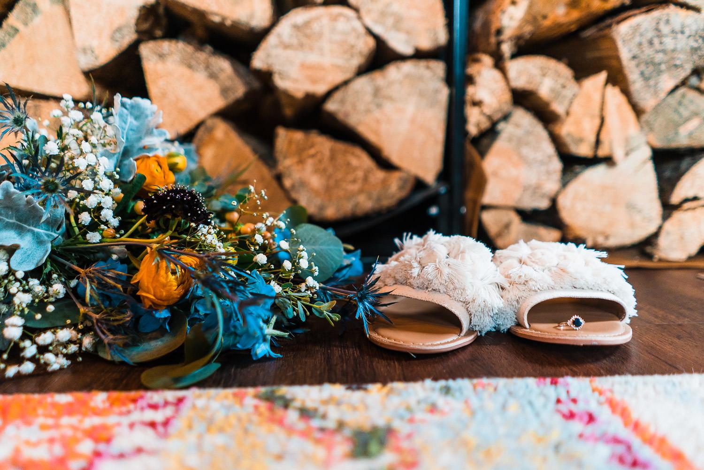 Colorado Backyard Elopement | Run Wild With Me Photography