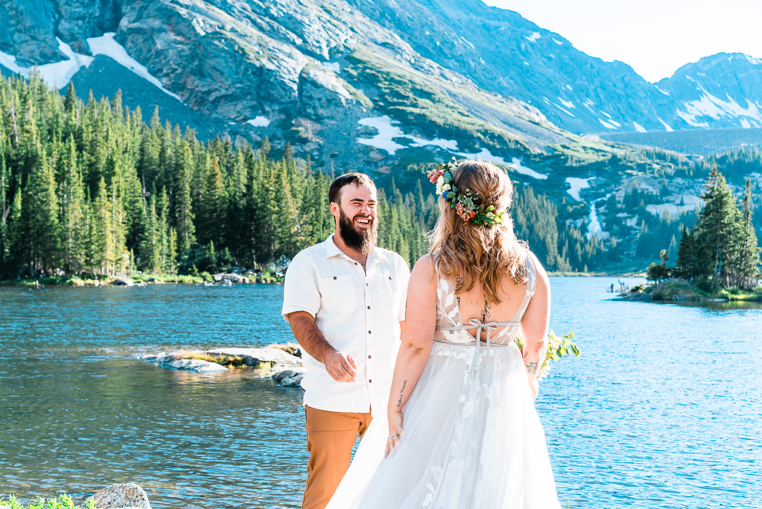 Colorado Blue Lakes Elopement | Run Wild With Me Photography