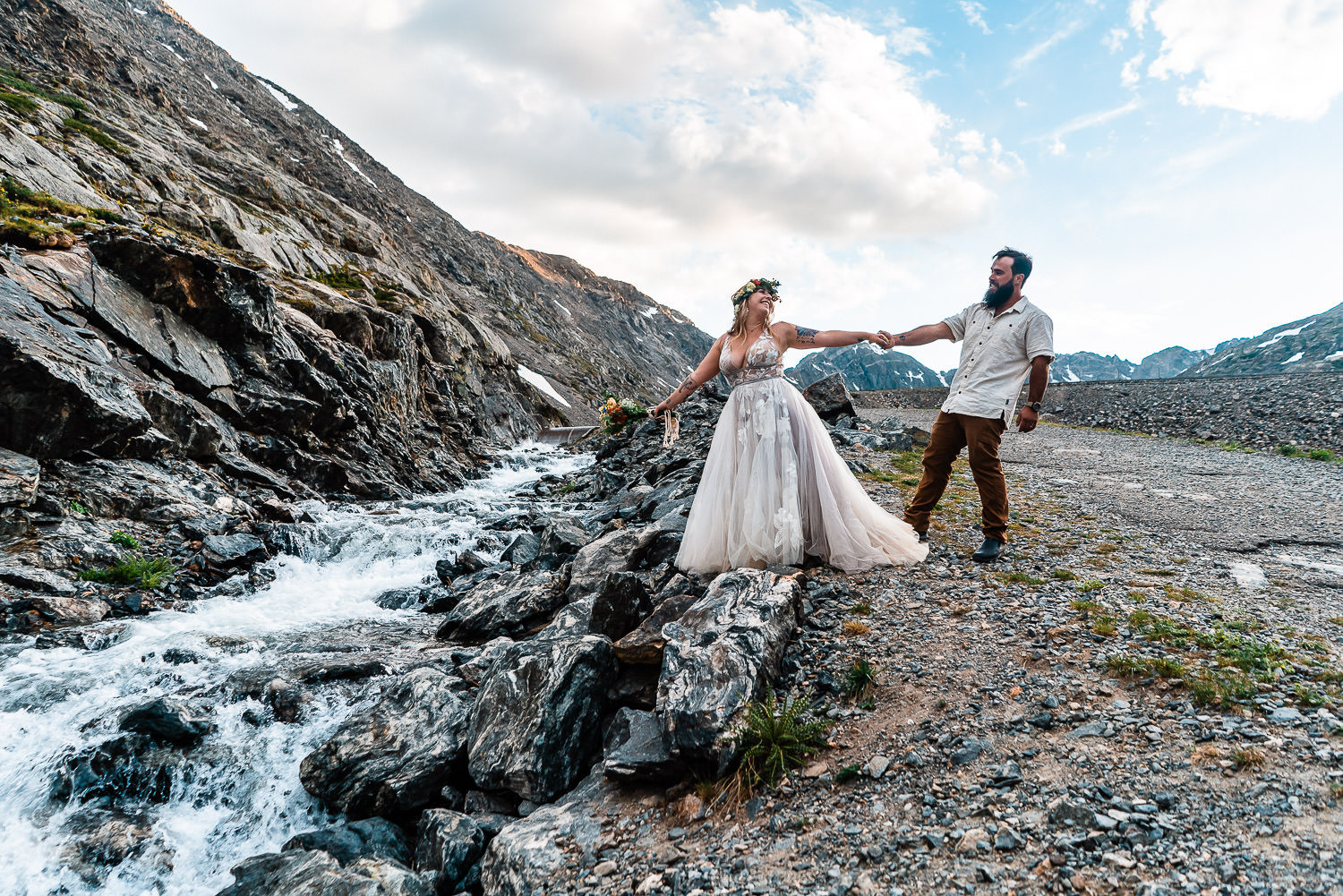Colorado Blue Lakes Elopement   Run Wild With Me Photography