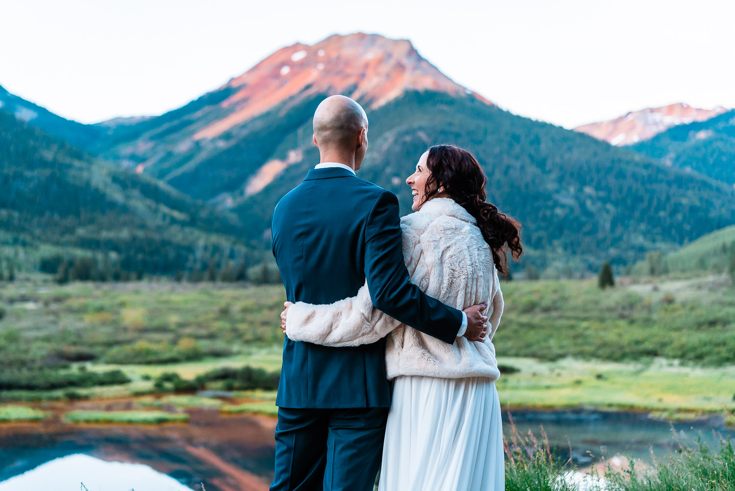 Ouray Elopement | Run Wild With Me Photography