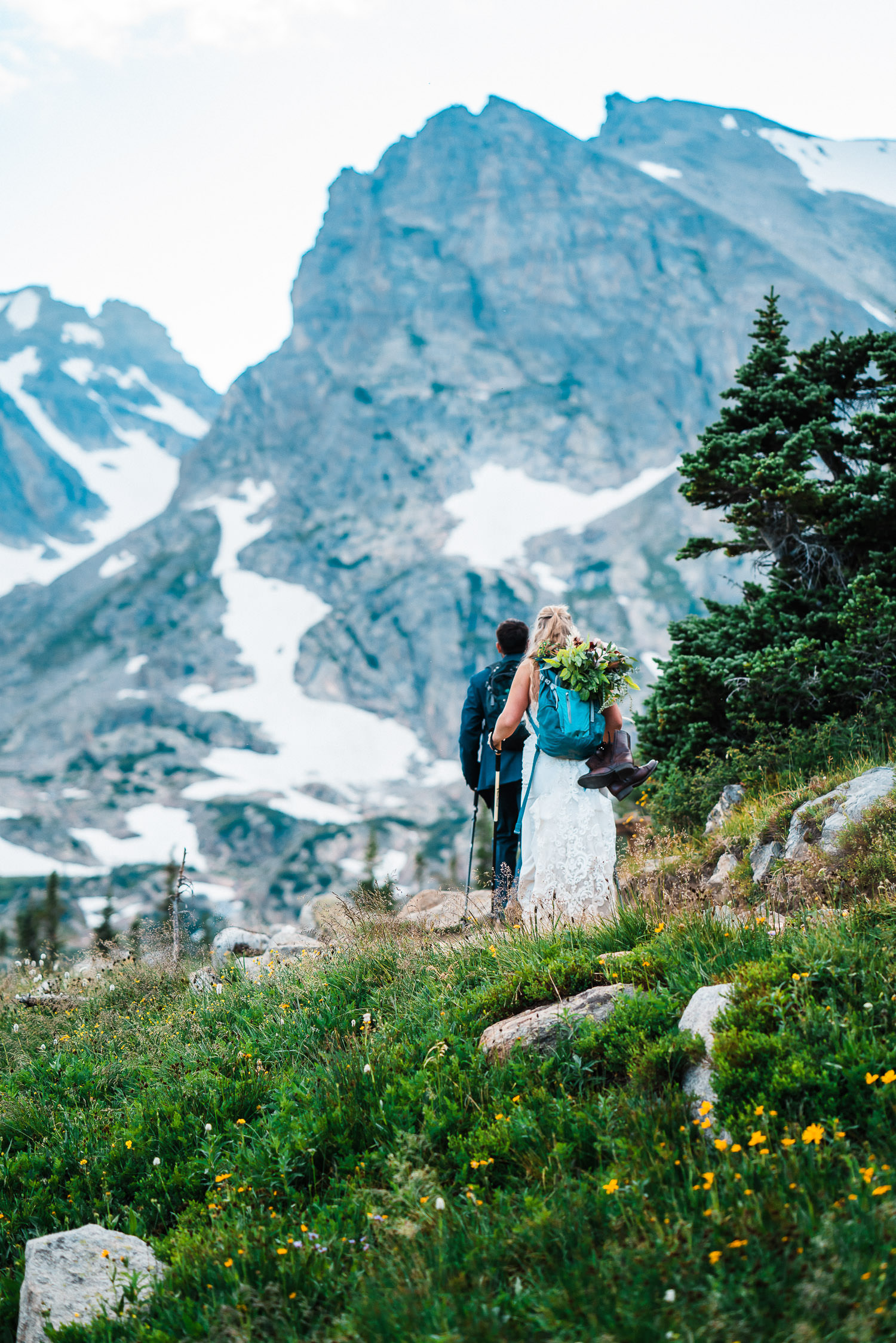 Best Place to Elope in Colorado | Brainard Lake Elopement | Run Wild With Me Photography
