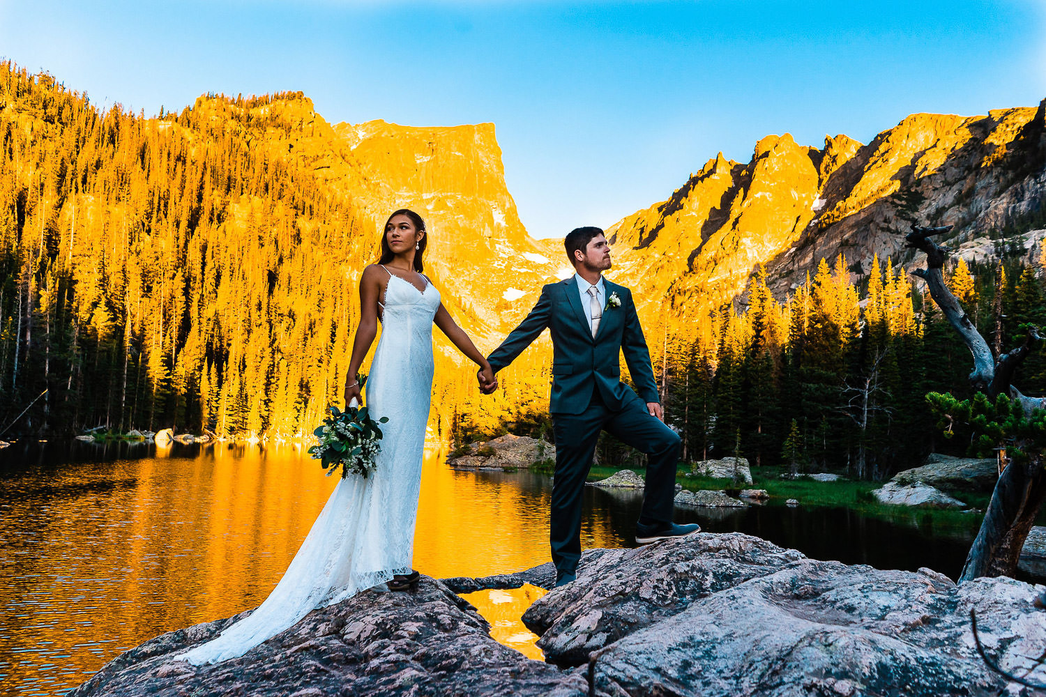 Best Place to Elope in Colorado | Rocky Mountain National Park Elopement | Run Wild With Me Photography